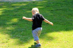 child first steps