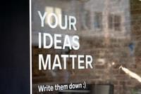 sign your ideas matter
