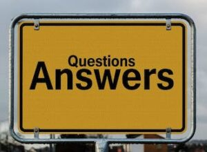 signage / questions and answers