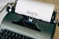 writing goal down